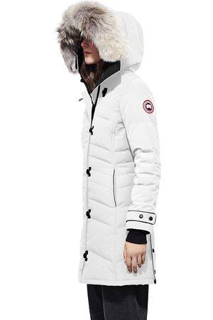 Canada Goose Women's Arctic Tech Lorette Fur-Trim Down Parka - - Size XL