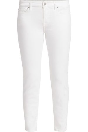 7 for all Mankind Women's Kimmie Mid-Rise Cropped Jeans - - Size 32 (10-12)