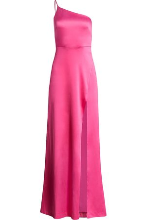 LIKELY Women's Cardallino Asymmetrical Gown - - Size 10