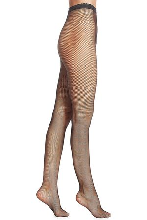 Wolford Women's Small Fishnet Tights - - Size Medium