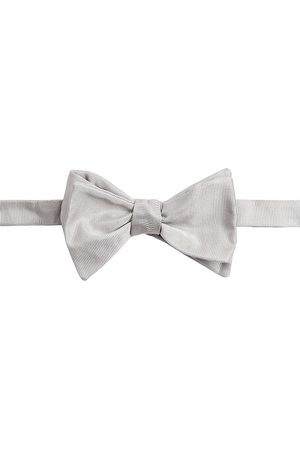 Armani Men's Striped Silk Bow Tie - - Size Medium