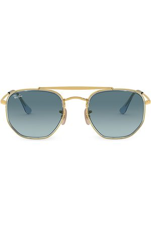 Ray-Ban Men's RB3648 52MM Icons Geometric Aviator Sunglasses