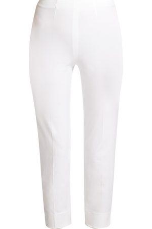 PIAZZA SEMPIONE Women's Audrey Cropped Cotton Pants - - Size 54 (18)