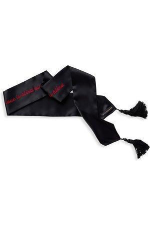 Kiki de Montparnasse Socks - Love Is Blind Silk Blindfold - Nude