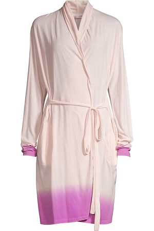 SKIN Women's Ombre Organic Pima Cotton Robe - - Size 4 (XL)