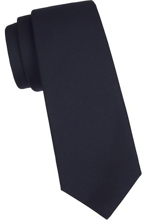 Kiton Men's Solid Silk Tie