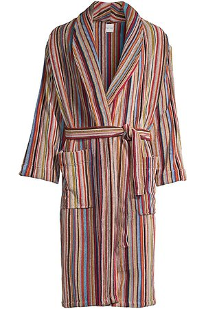 Paul Smith Men's Multi-Stripe Robe