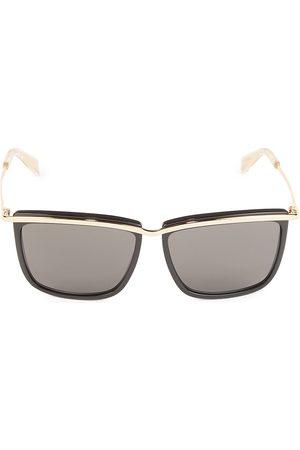 Céline Men's 59MM Metal Square Sunglasses