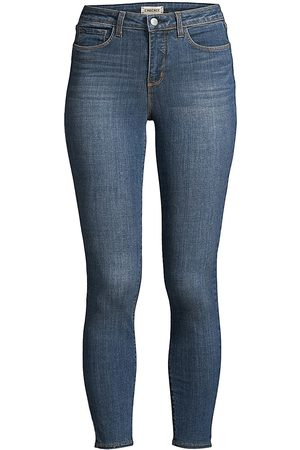 L'Agence Women's Margot High-Rise Skinny Ankle Jeans - - Size 32 (10-12)