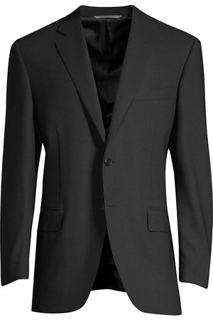 CANALI Men's Classic Fit Wool Blazer - - Size 60 (50) R