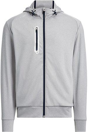Ralph Lauren Men's Tech Jersey Full-Zip Hoodie - - Size XXL