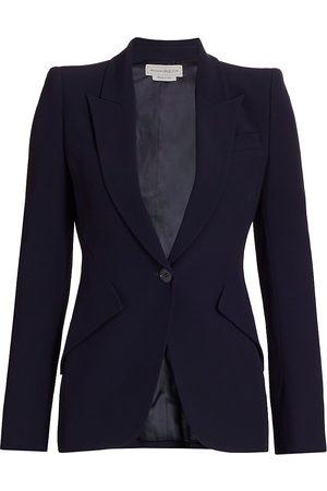 Alexander McQueen Women's One-Button Jacket - - Size 48 (12)
