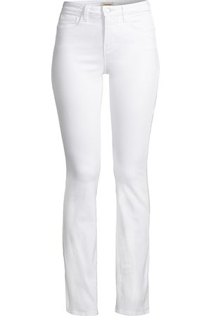L'Agence Women's Oriana High-Rise Straight-Leg Jeans - - Size 32 (10-12)