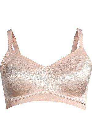 Wacoal Women's Back Appeal Wirefree Jacquard Lace Bra - - Size 42 DDD