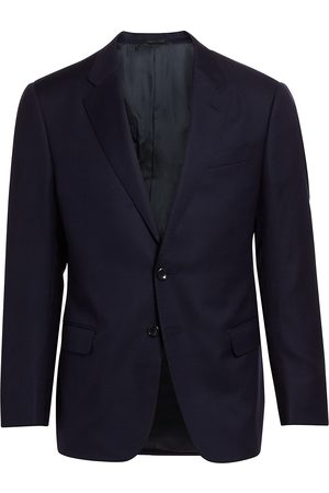 Armani Men's Solid Single-Breasted Blazer - - Size 60 (50) R