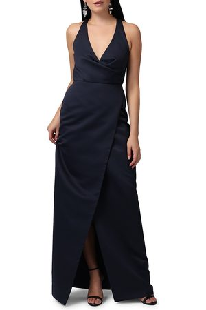 Jay Godfrey Women's Kingston V-Neck Wrap Gown - - Size 10