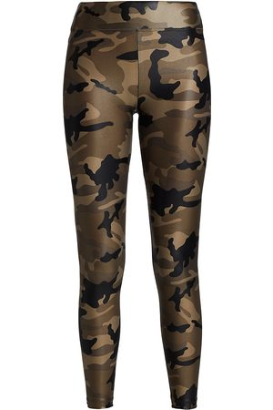 Koral Women's Lustruous High-Rise Camouflage Leggings - - Size Medium