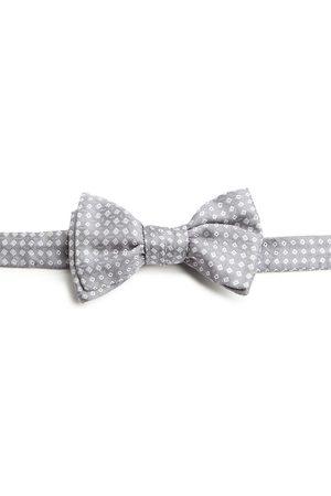 Charvet Men's Neat Square Silk Bow Tie