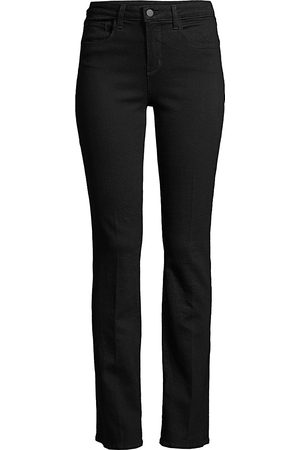 L'Agence Women's Oriana High-Rise Straight-Leg Jeans - - Size 32 (12)