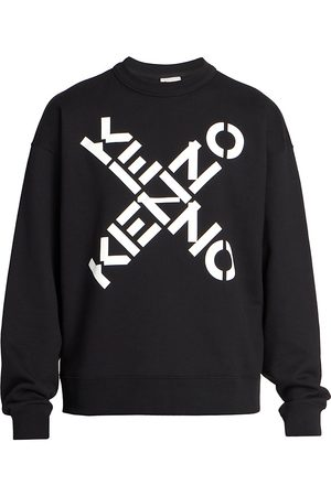Kenzo Men's Logo Sports Crewneck Sweatshirt - - Size XL