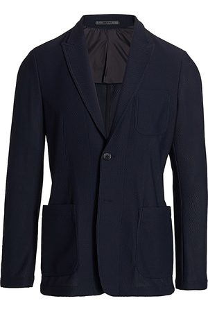 Armani Men's Textured Wool Sport Jacket - - Size 52 (42) R