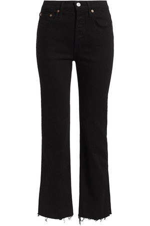 RE/DONE Women's Comfort Stretch High-Rise Stovepipe Jeans - - Size 32 (12)