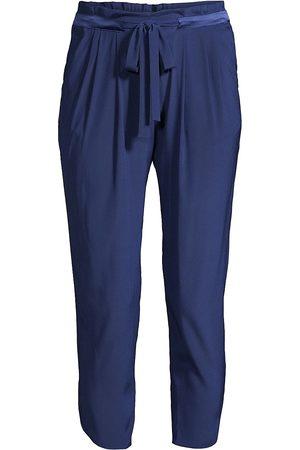 Ramy Brook Women's Allyn Silk-Blend Pants - - Size XXS