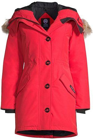 Canada Goose Women's Rossclair Fusion-Fit Fur-Trim Parka - - Size XS