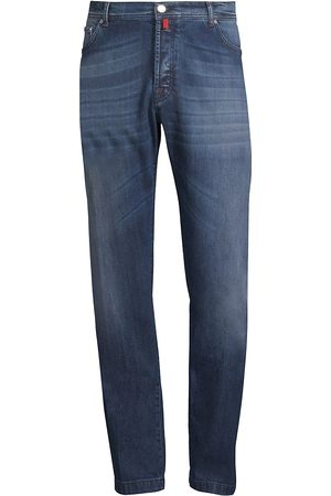 Kiton Men's Stretch Cotton Straight Jeans - - Size 32
