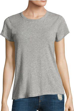 RAG&BONE Women's Cotton Crewneck Tee - - Size Medium