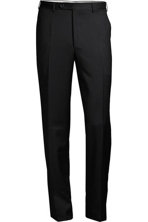 CANALI Men's Regular-Fit Wool Pants - - Size 50 (40)