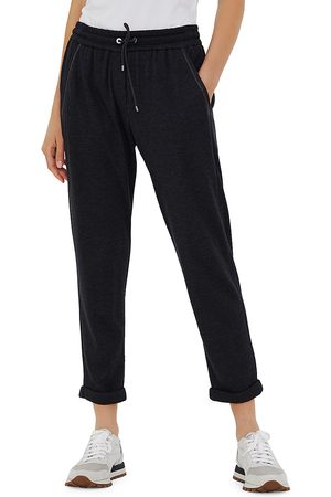 Brunello Cucinelli Women's Cropped Joggers - - Size Small