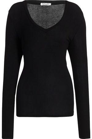 Splendid Women's Valley V-Neck T-Shirt - - Size XS