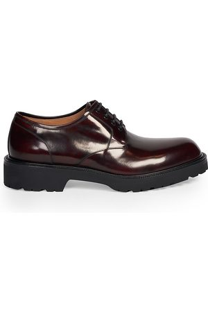 DRIES VAN NOTEN Men's Derby Patent Leather Oxfords - - Size 40 (7)