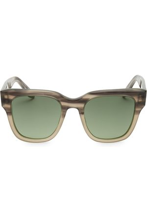 Barton Perreira Men's Stax 50MM Square Sunglasses
