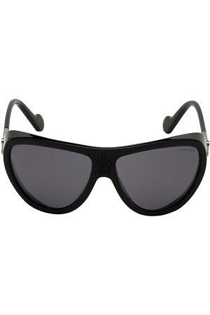 Moncler Men's 61MM Acetate Shield Sunglasses