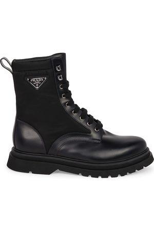 Prada Men's Millerighe Combat Boots - - Size 10 UK (11 US)
