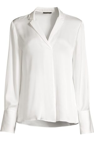 Kobi Halperin Women's Rebekah Stretch-Silk Blouse - - Size XXL