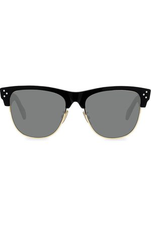 Céline Men's 56MM Iconic Round Sunglasses