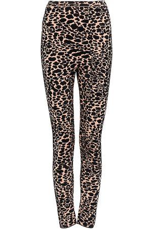 Alaïa Women's Panthere Intarsia Knit Leggings - - Size 38 (4-6)
