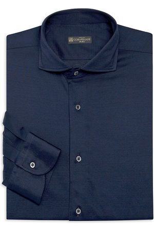 corneliani Men's Casual Cotton Dress Shirt - - Size 40 (16) R