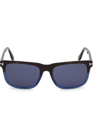 Tom Ford Men's 56MM Plastic Square Sunglasses