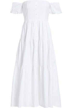 Staud Women's Elio Puff-Sleeve Prairie Dress - - Size 00
