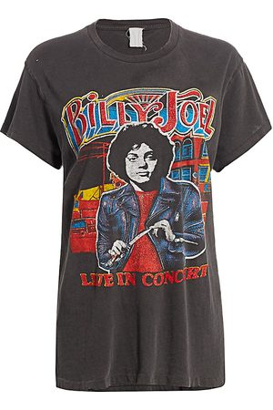 Madeworn Women's Billy Joel Live In Concert Graphic T-Shirt - - Size Large