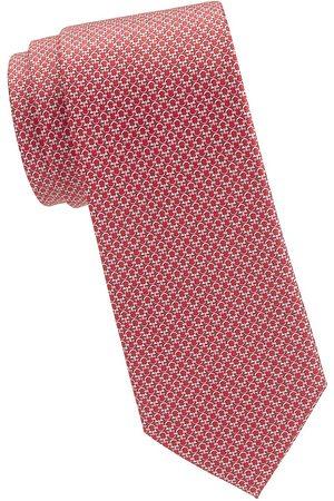 Salvatore Ferragamo Men's Tonal Gancini Silk Tie