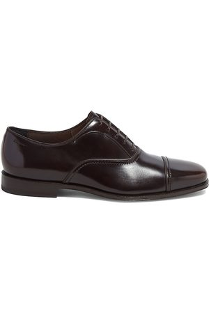 Salvatore Ferragamo Men's Seullux Admiral Leather Oxford Loafers - - Size 11 EE