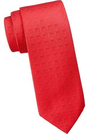 Charvet Men's Illusion Diamond Silk Tie