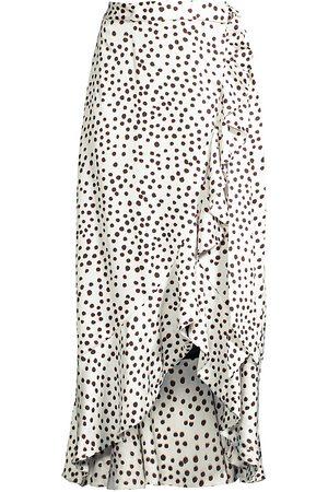 Azulu Women's Masai Ruffle Wrap Skirt - - Size 4