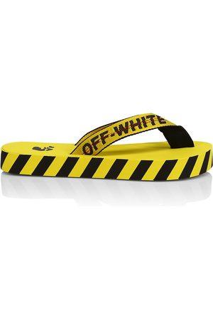OFF-WHITE Men's Logo Platform Flip Flops - - Size 43 (10)