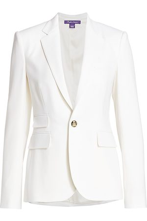 Ralph Lauren Women's Parker Stretch-Wool Jacket - - Size 8